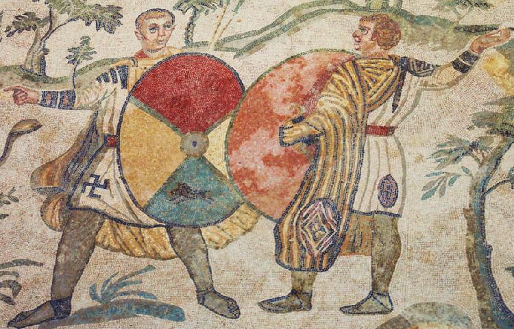 piazza_armerina mosaici della villa romana del casale